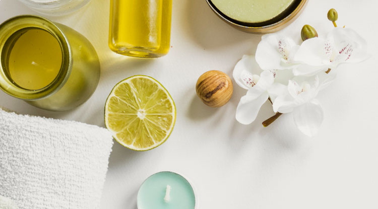 Kropsbehandlinger - Økologisk olie indpakning